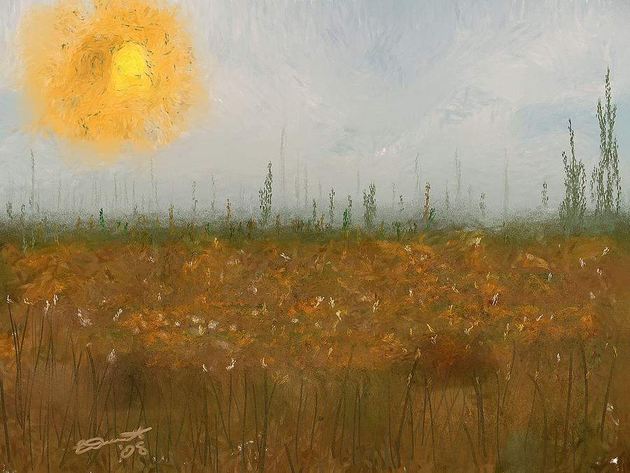 Heatwave Painting by Eddie Durrett