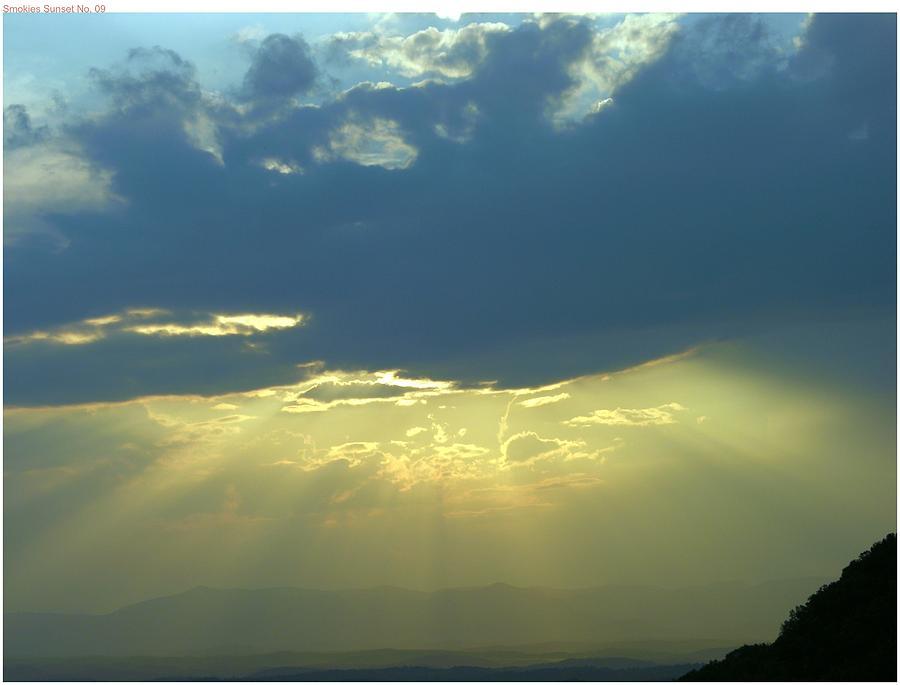 Sunset Photograph - Heavanly Glow by John Geck