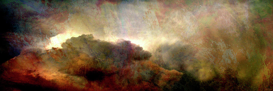 Heaven And Earth - Abstract Art by Jaison Cianelli