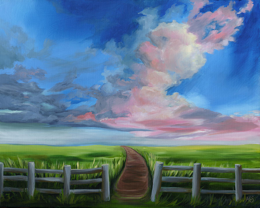 Heaven Bound Painting by Julie Short