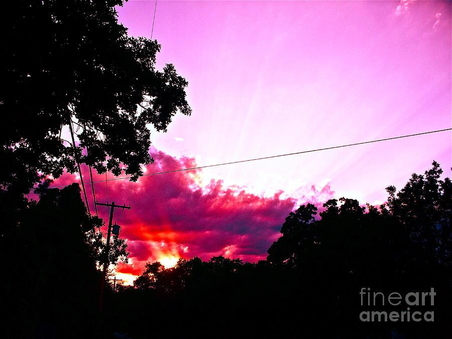Heaven Photograph - Heaven Is Earth Earth Is Heaven by Chuck Taylor