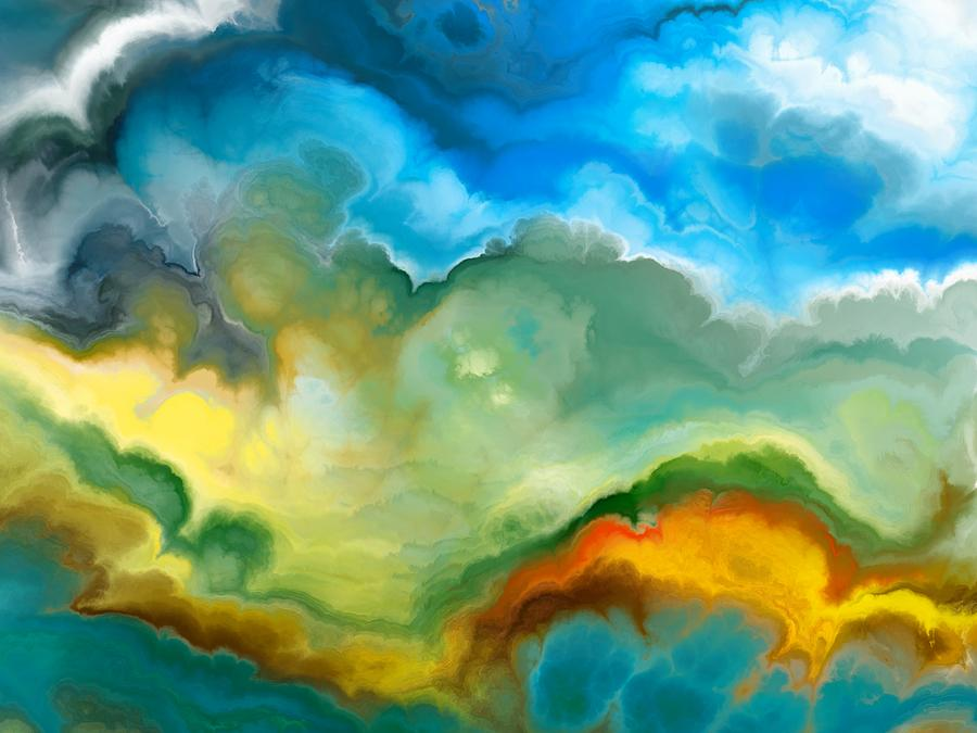 Abstract Digital Art - Heaven Of Heaven by Jury Onyxman