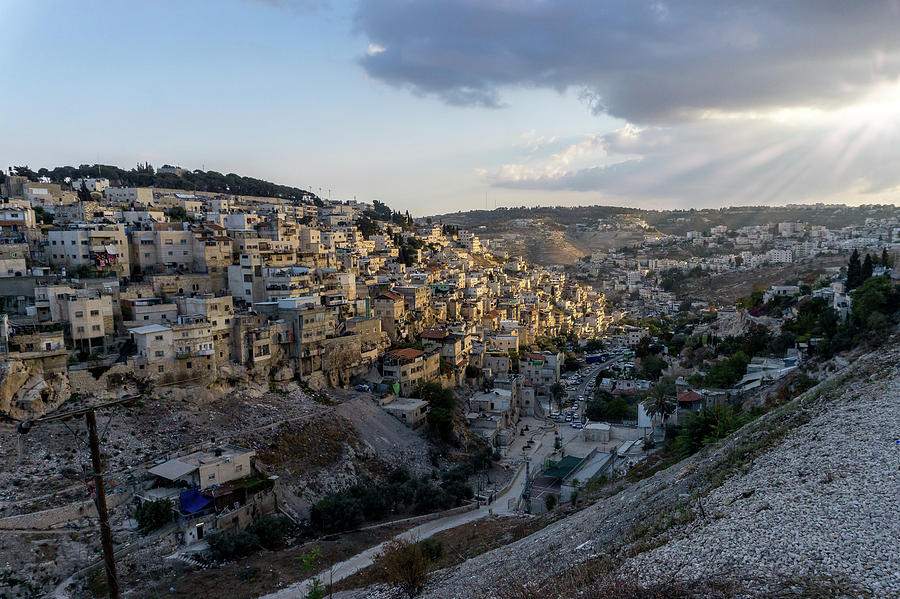 Heaven Shines On the City of David by Boyce Fitzgerald