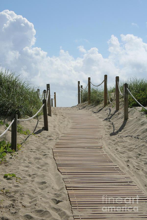 Heavenly Beach Path by Carol Groenen