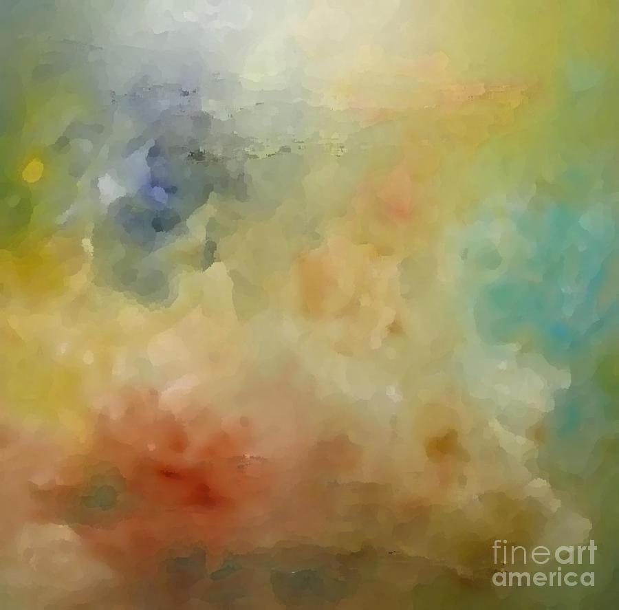 Heavenly Painting - Heavenly by KR Moehr