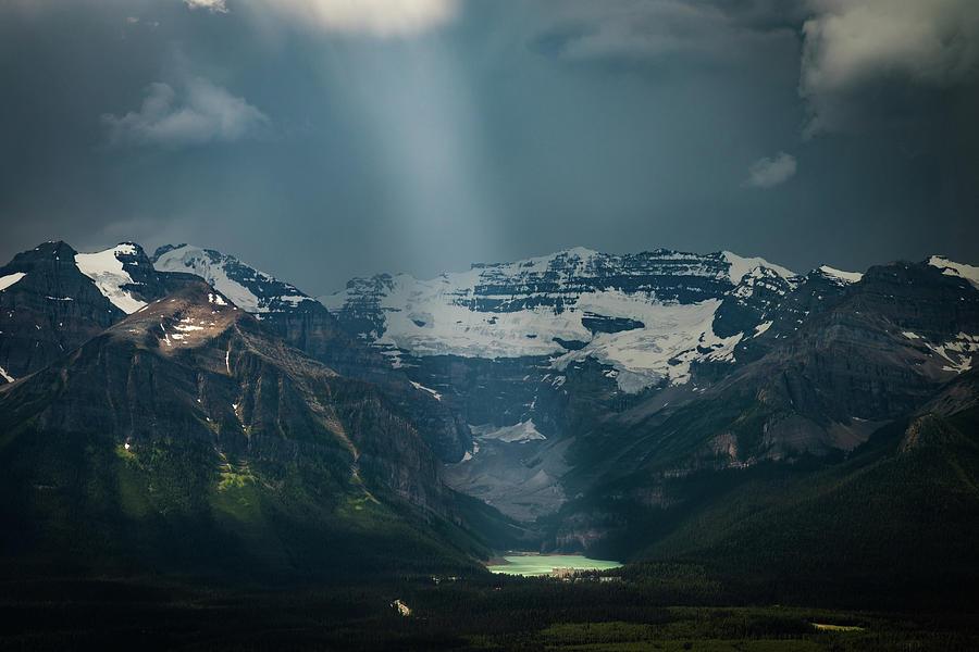 Heavenly Lake Louise Photograph