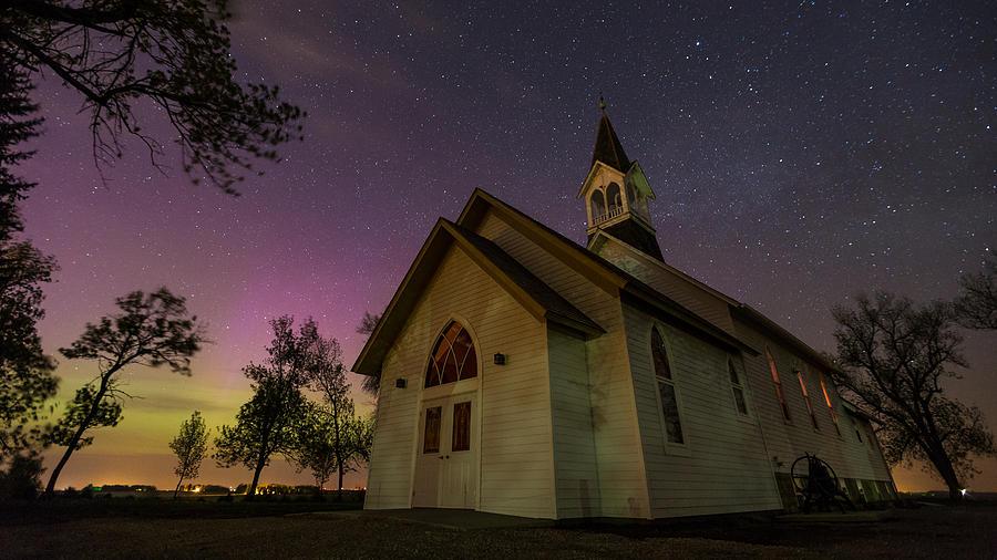 Aurora Photograph - Heavenly Lights 2 by Aaron J Groen