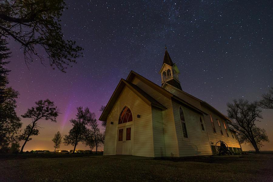 Heavenly Lights Photograph by Aaron J Groen