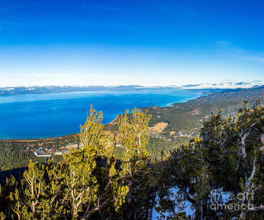 Nature Photograph - Heavenly South Lake Tahoe View 1 - Right Panel by G Matthew Laughton