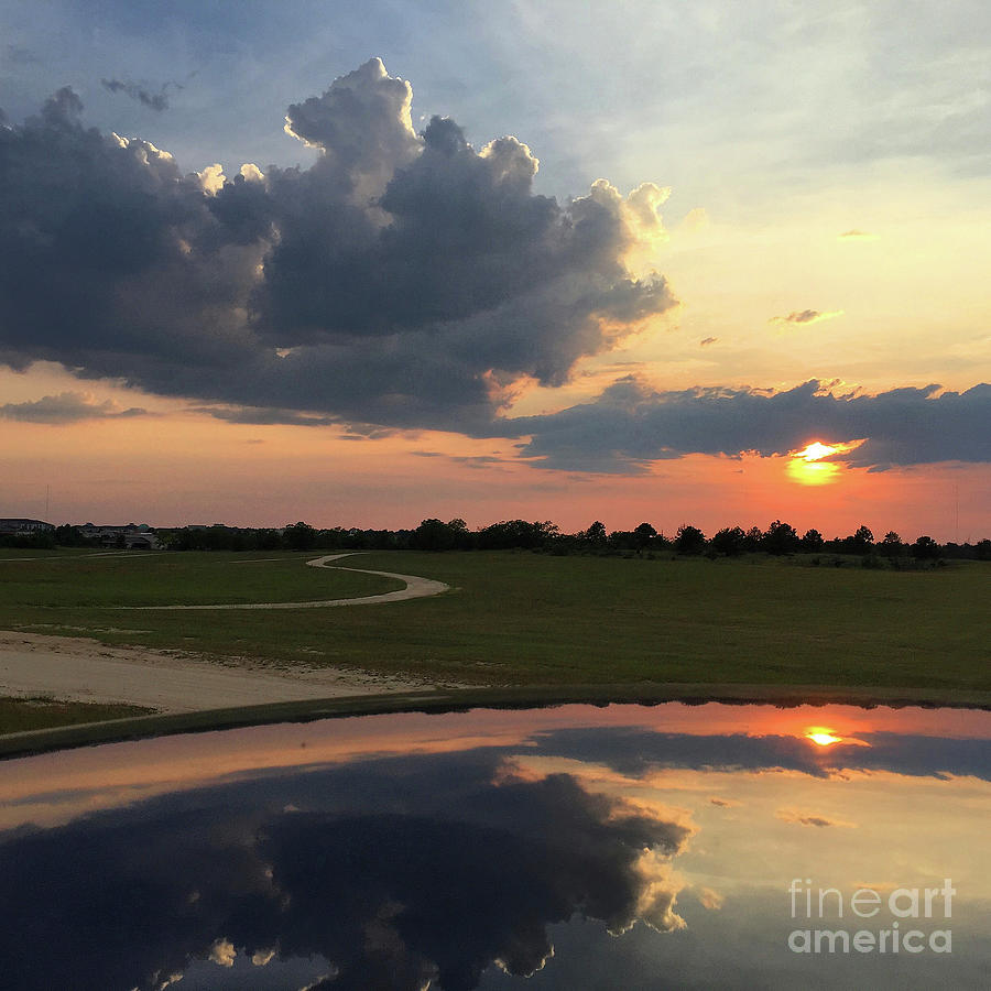 Sunset Photograph - Heavenly Sunset by Matthew Seufer