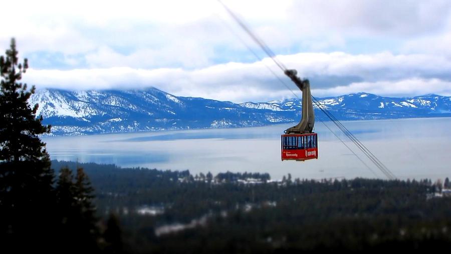 Heavenly Ski Resort Photograph - Heavenly Tram South Lake Tahoe by Brad Scott