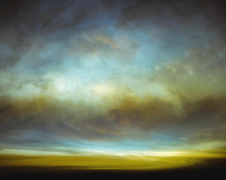 Atmosphere Mixed Media - Heavenly View by Lonnie Christopher