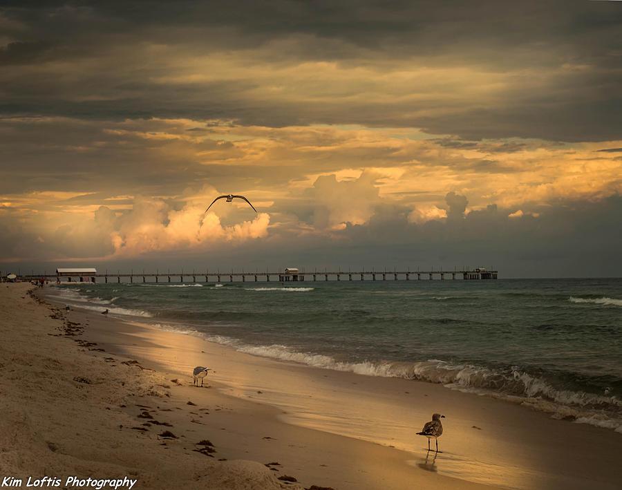 Sea Photograph - Heavenly  World  by Kim Loftis