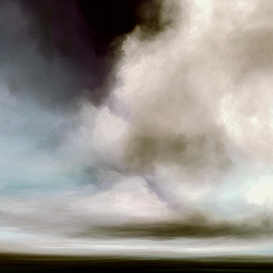 Atmosphere Mixed Media - Heavens Divide by Lonnie Christopher