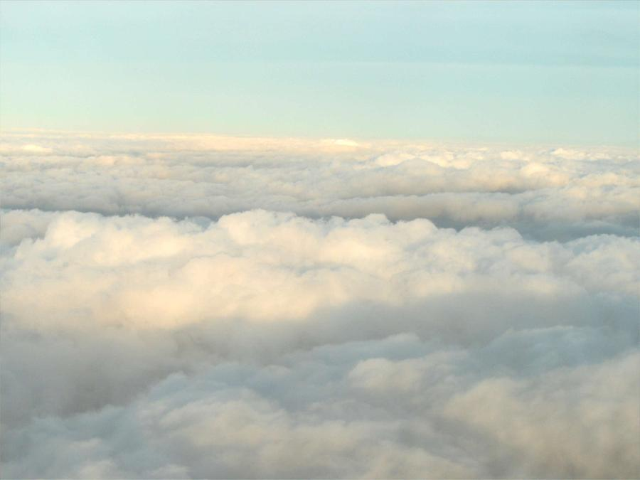 Clouds Photograph - Heavens Floor by Cleautrice Smith