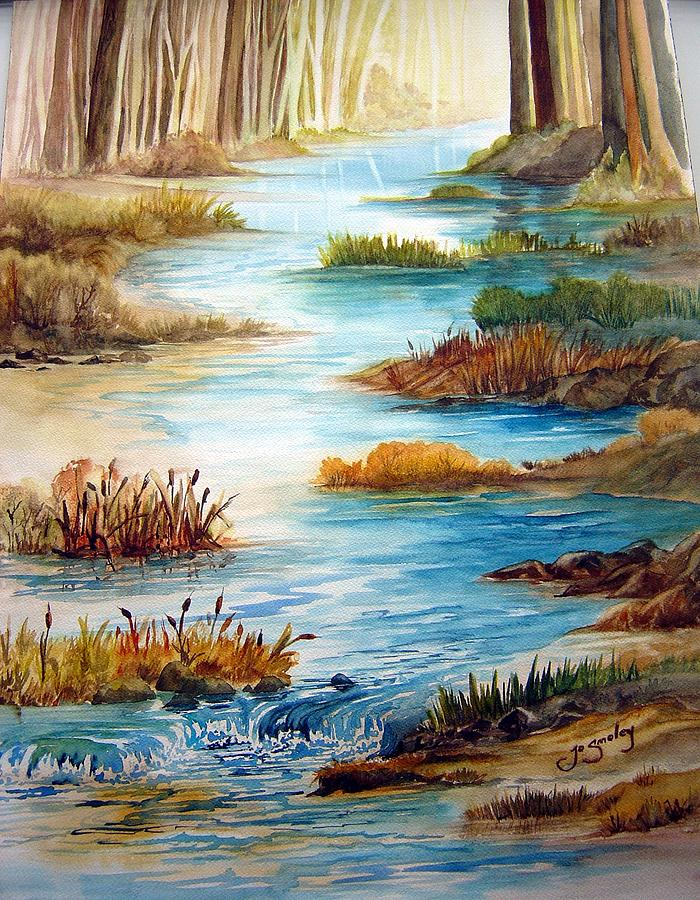 Heavens Gift Painting by Joanne Smoley