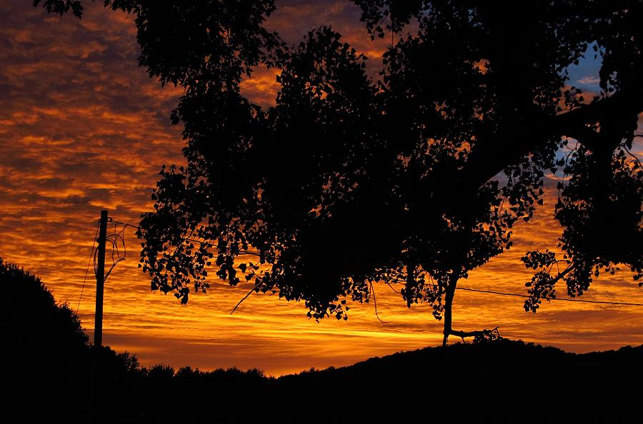 Sun Photograph - Heavens Gold  by Robert Nacke