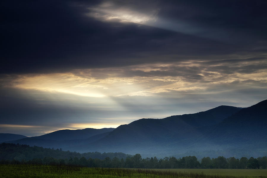 Smoky Photograph - Heavens Light by Andrew Soundarajan