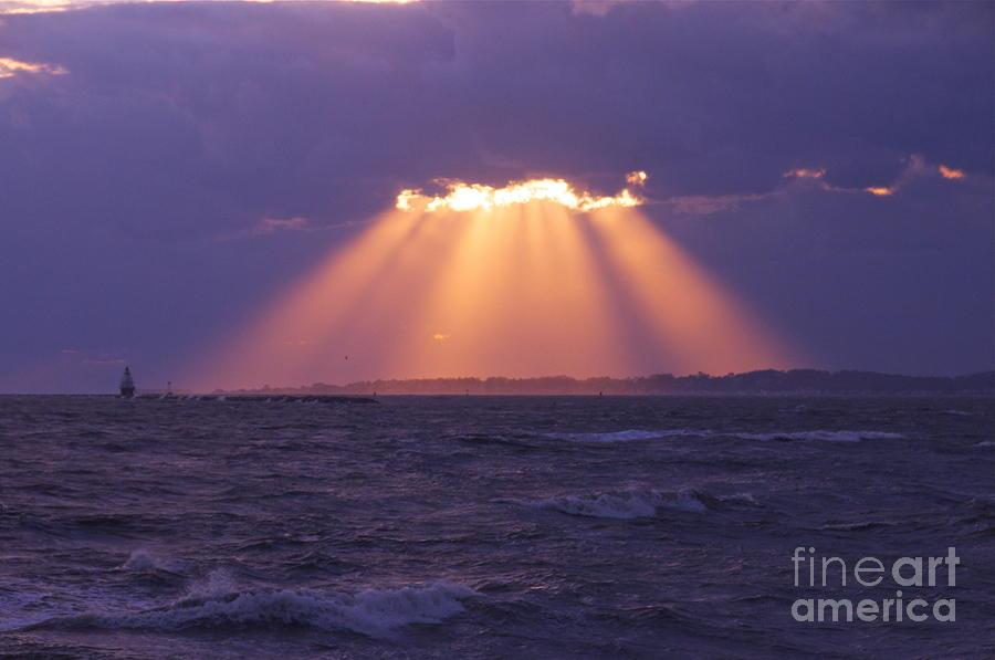 Heaven Photograph - Heavens Light by Cindy Lee Longhini