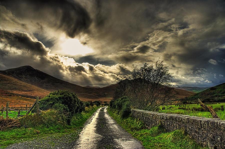 Landscape Photograph - Heavens Path by Kim Shatwell-Irishphotographer