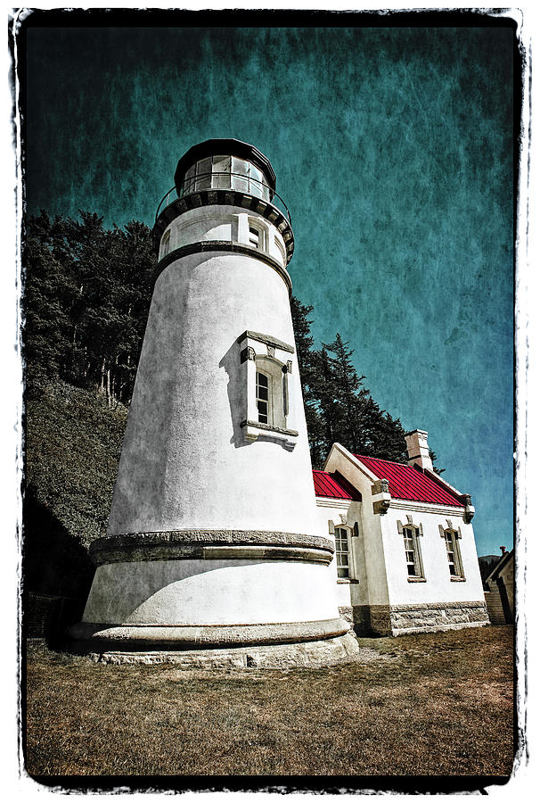 Hecitia Head Lighthouse by Jeffrey Jensen