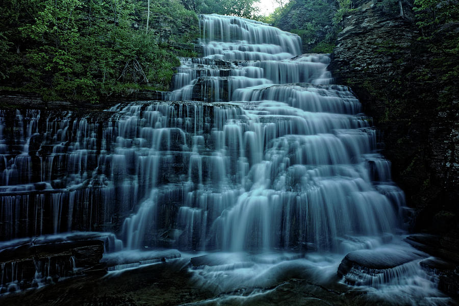 Hector Falls Photograph - Hector Falls by Doolittle Photography and Art
