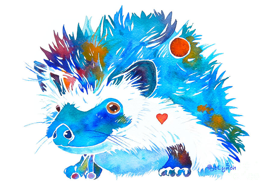 Hedgehog with Heart by Jo Lynch