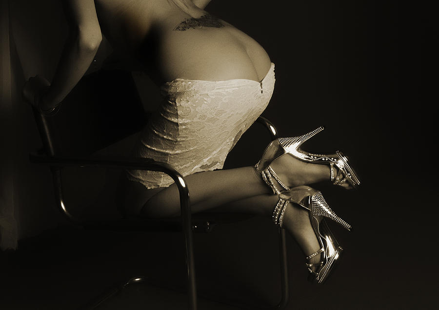 Heels And Tattoo Photograph by RTP Fine Art Photography