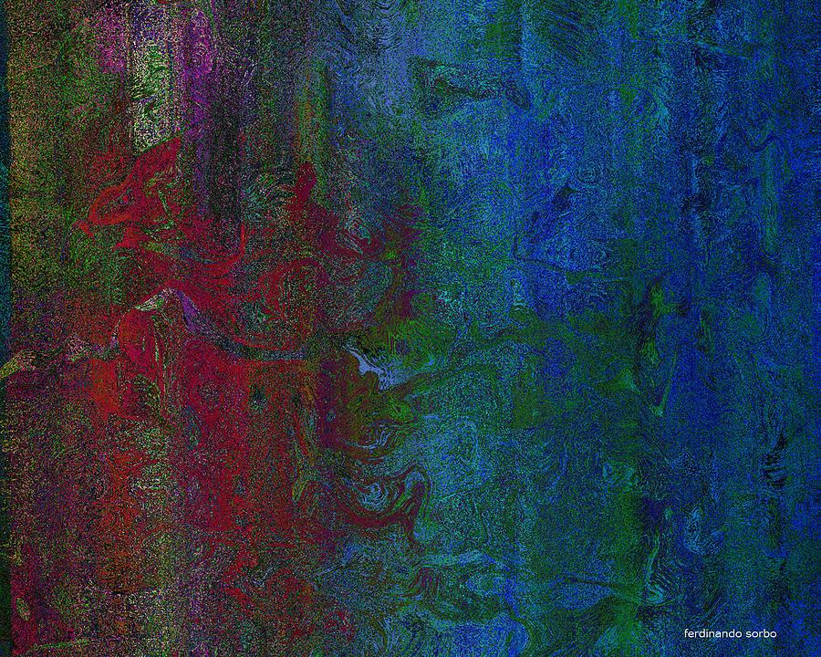 Abstract Digital Art - Hegel by Ferdinando Sorbo