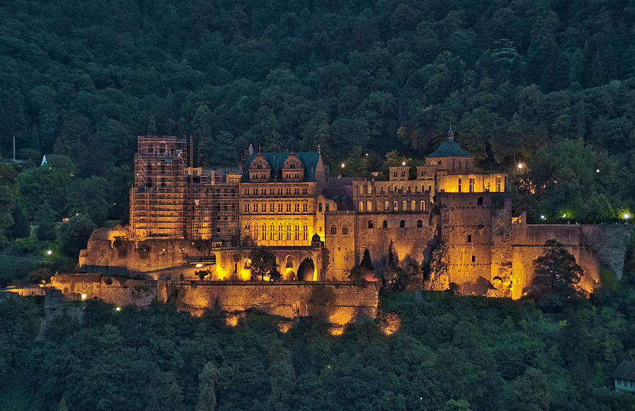 Heidelberg Castle Photograph By Travel Images Worldwide