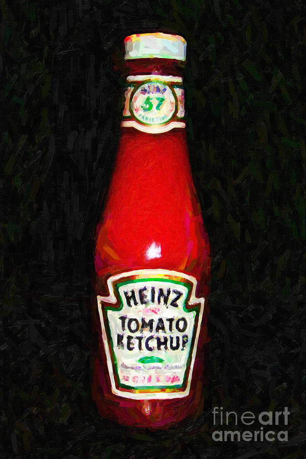 Wingsdomain Photograph - Heinz Tomato Ketchup by Wingsdomain Art and Photography
