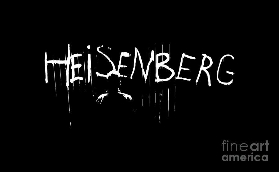 Bryan Cranston Digital Art - Heisenberg Spraypaint - Breaking Bad Season 5 - Walter White by Paul Telling