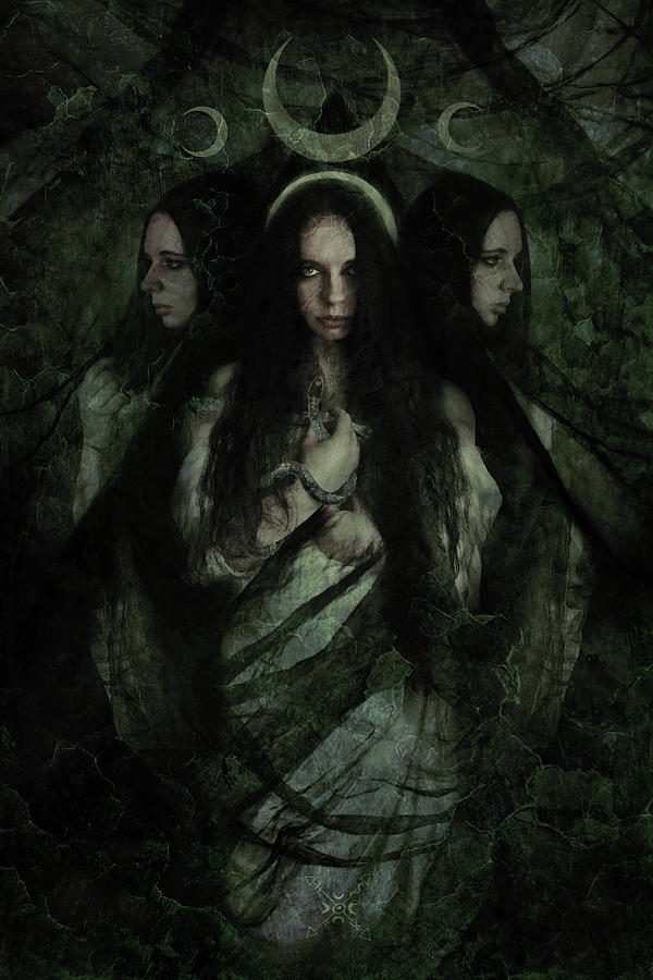 Hekate Mixed Media - Hekate by Cambion Art