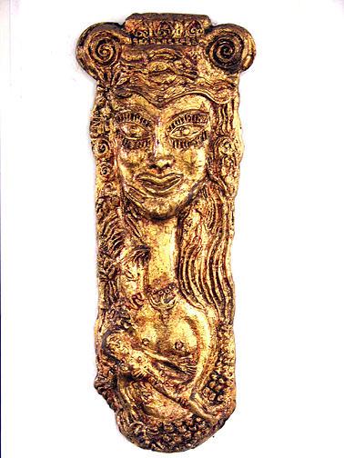 Brass Sculpture - Helen by Maria Alquilar