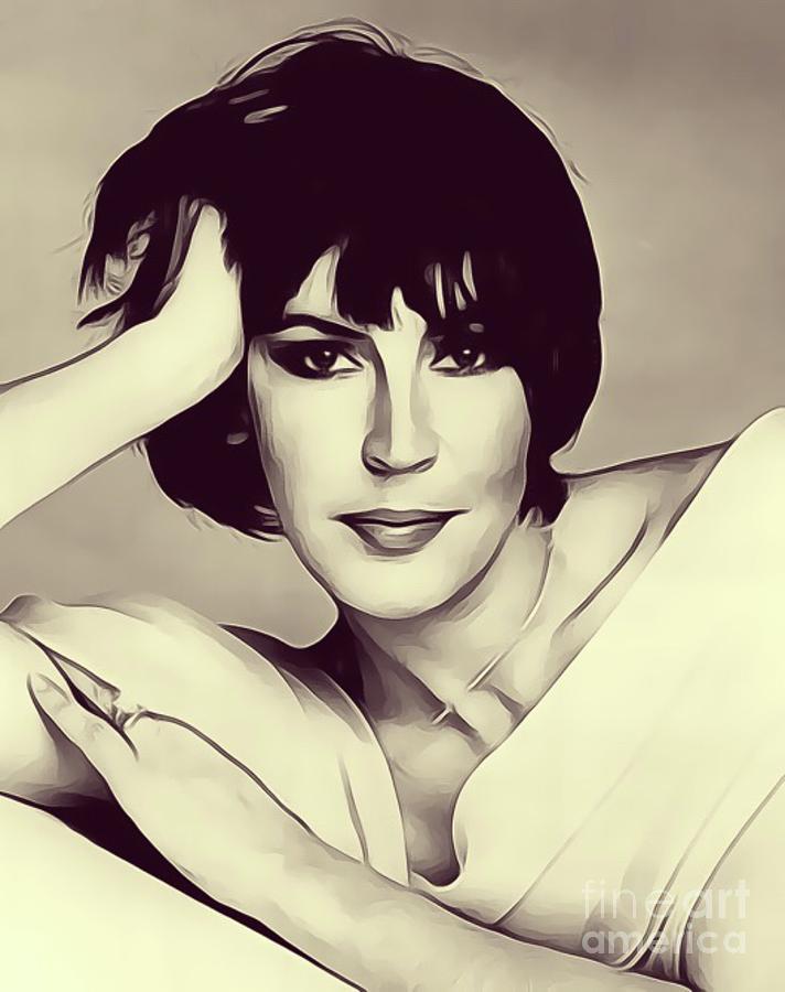 Helen Reddy, Singer Digital Art