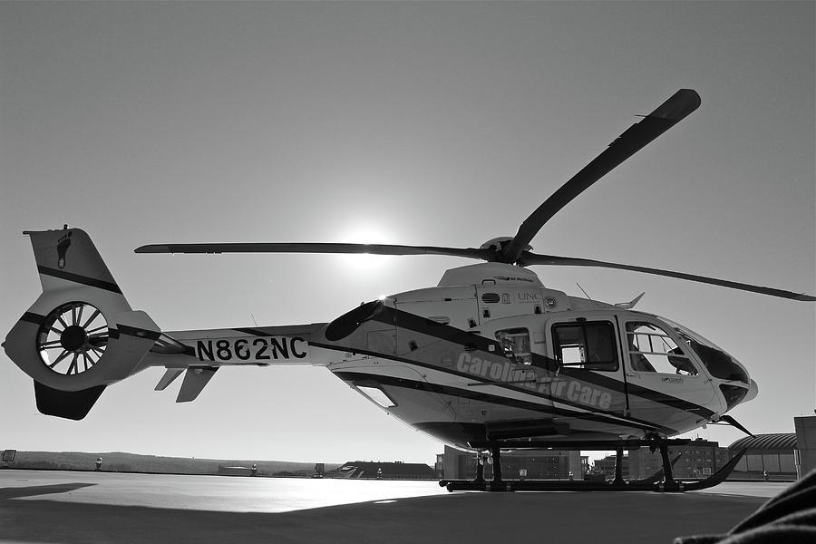 Helicopter Digital Art - Helicopter by Dorothy Binder