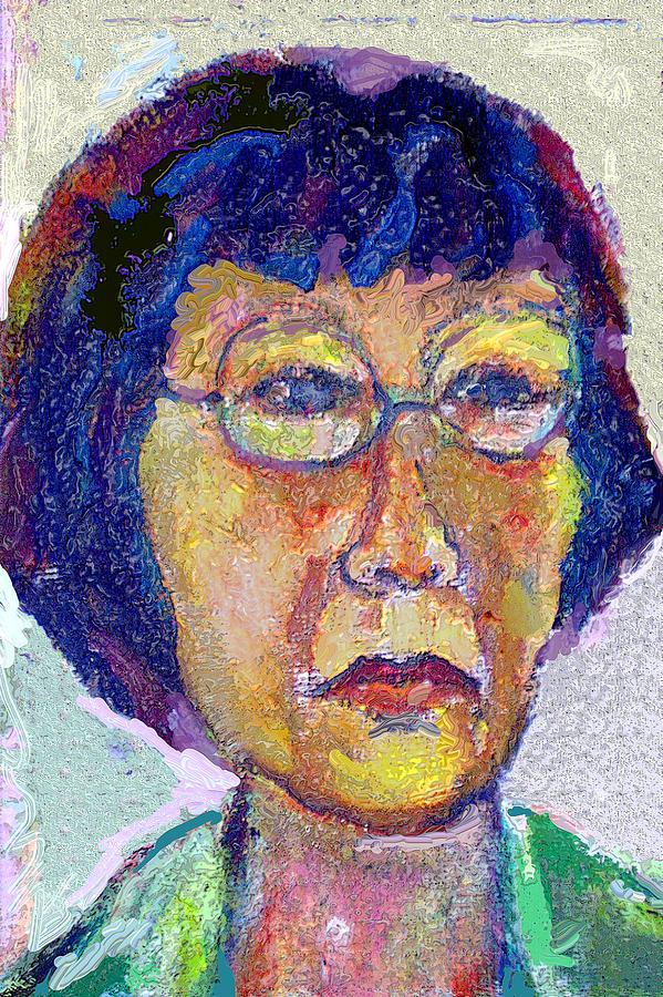 Portrait Painting - Hellen by Noredin Morgan