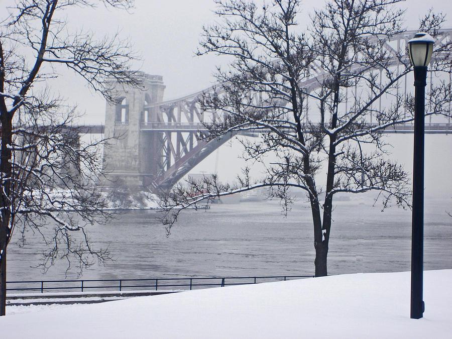 Bridges Photograph - Hellgate 2 by Bernadette Claffey