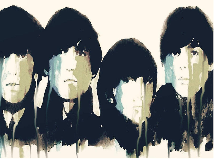 The Beatles  Painting - Hello Goodbye by Paul Lovering