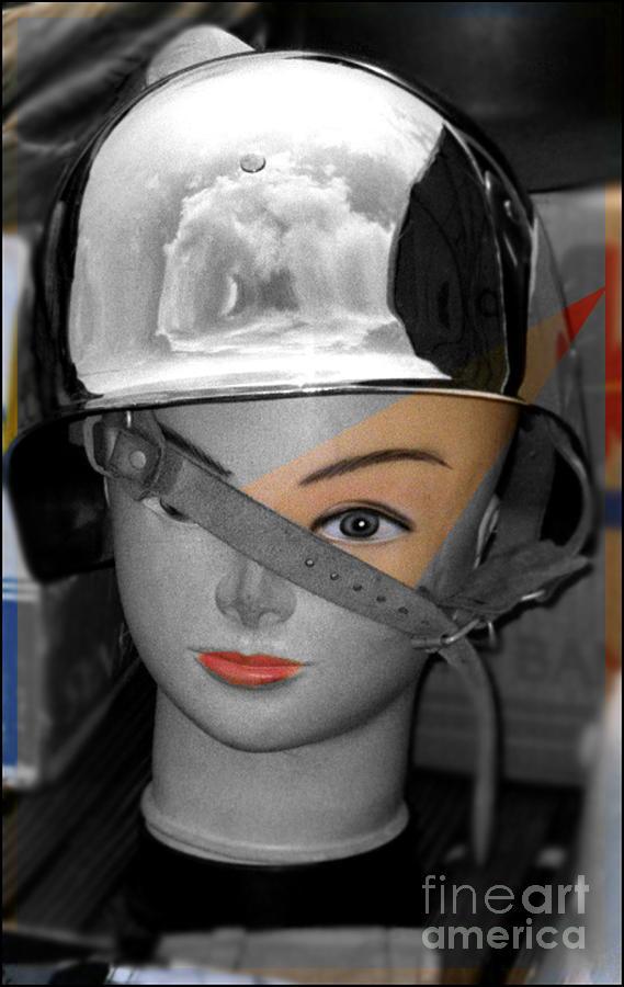 Helmet Photograph - Helmet by Sascha Meyer