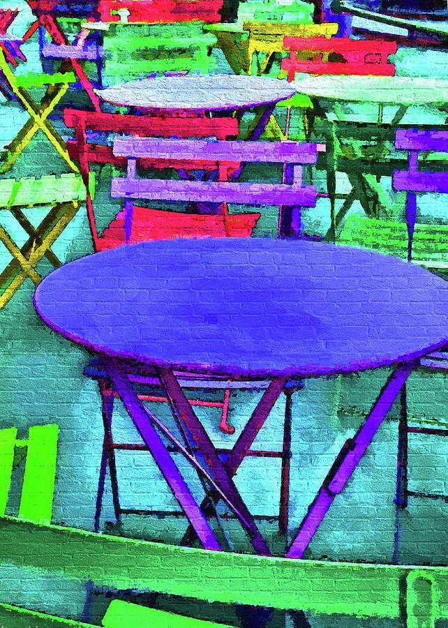 Helsinki Cafe Digital Art