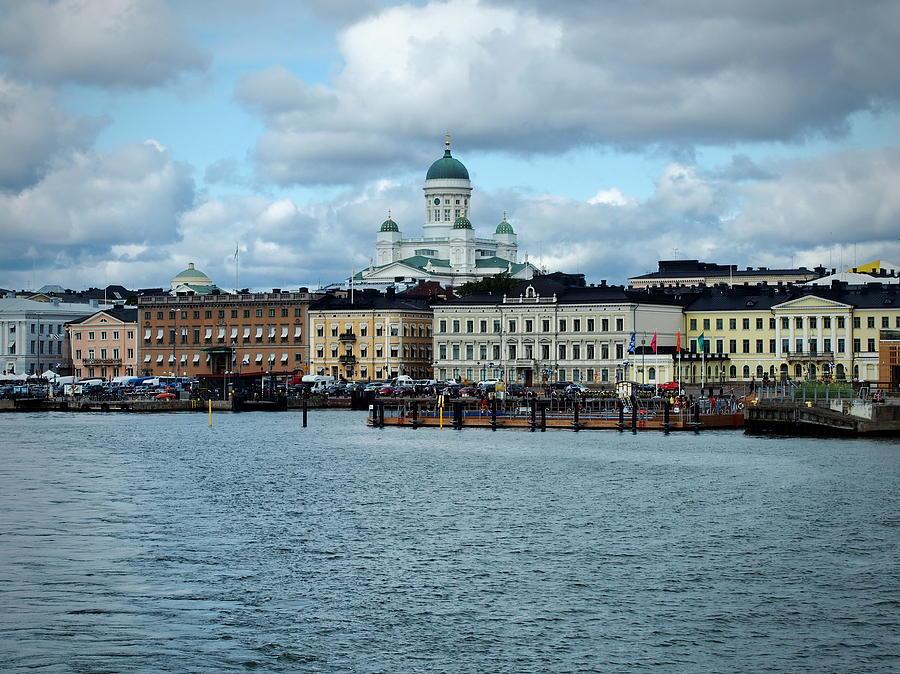 Helsinki Skyline by Terry Fleckney