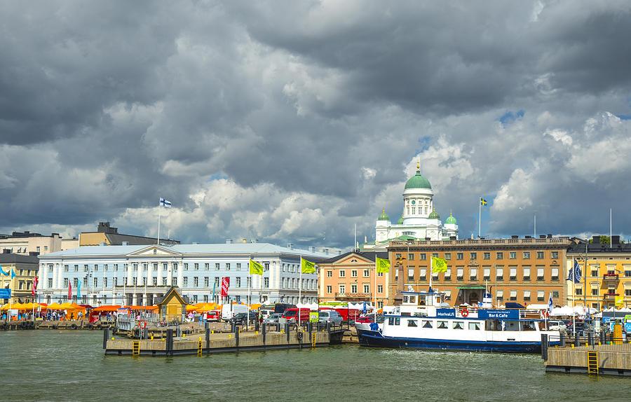 Helsinki, South Harbor by Mick Burkey