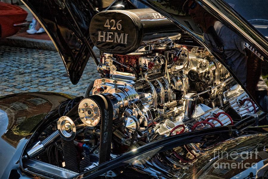 Hemi Photograph - Hemi Engine by Edward Sobuta