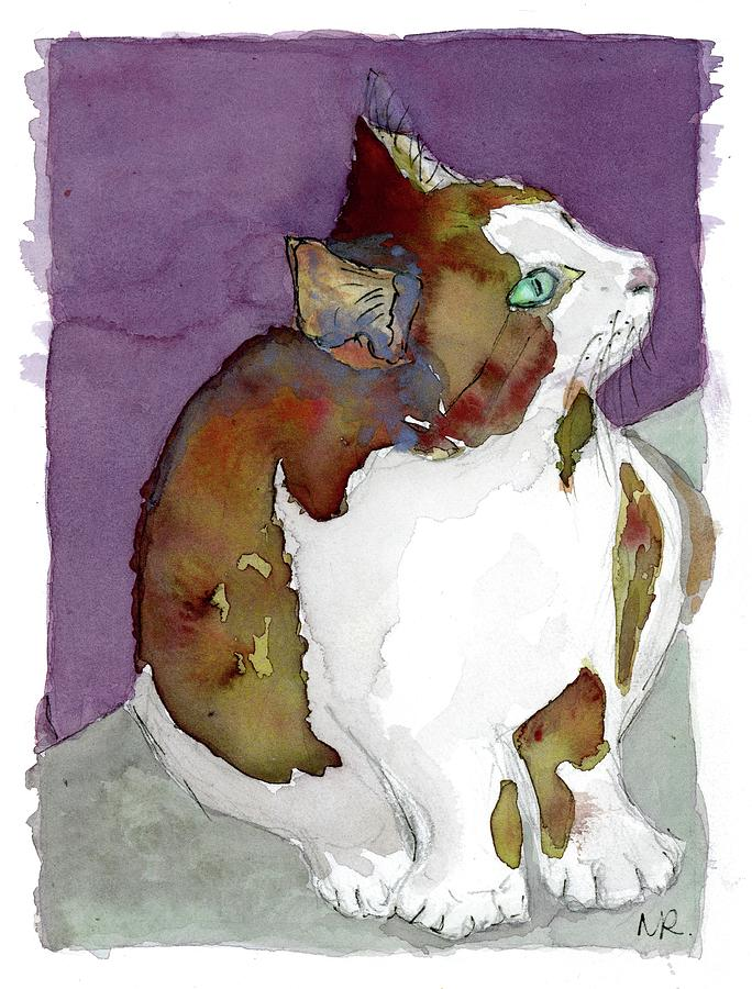 Hemingway Cat by Michelle Reeve