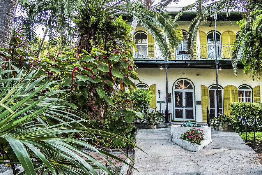 Hemingway House - Key West by Bob Slitzan