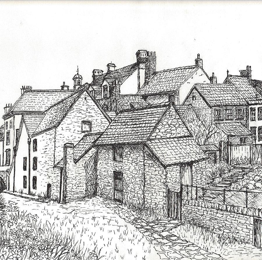 Hemsley village in yorkshire england