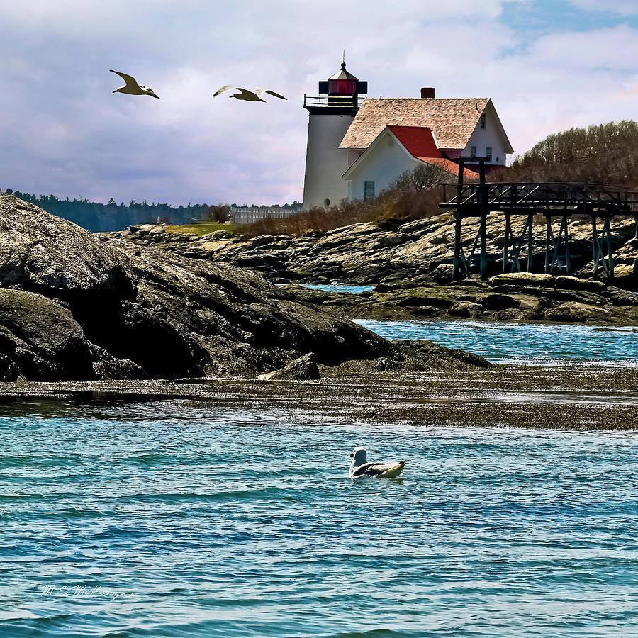 Hendricks Head Light, Southport Island, Maine (Infrared ...  Hendricks Head Light