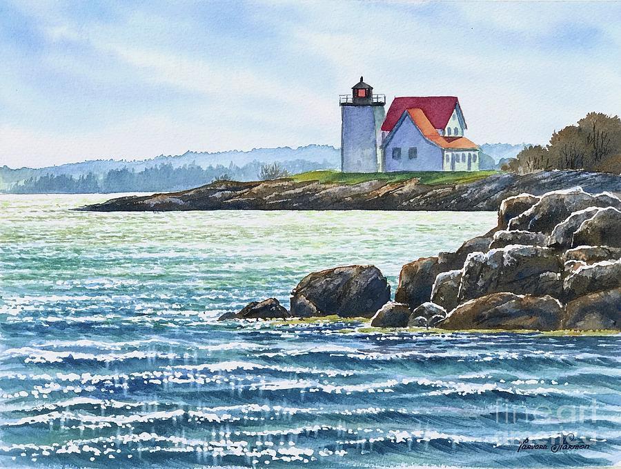 Hendricks Head Lighthouse, Maine at Lighthousefriends.com  Hendricks Head Light