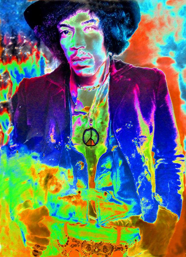 Artwork Painting - Hendrix by David Lee Thompson